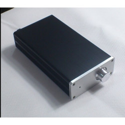 1105 Full Aluminum MINI Audio box/ power amplifier case/AMP case/ amplifier case 114mm*50mm*210mm