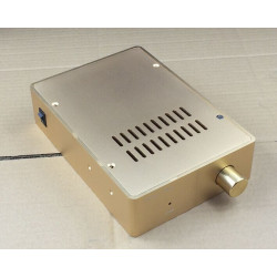 1655 mini full aluminum Power amplifier chassis/headphone amp/DAC decoding/AMP case Enclosure/box 160mm*55mm*230mm)