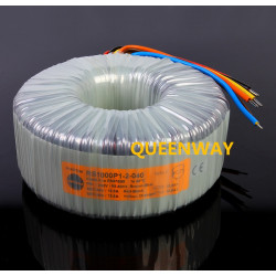 2* 40V/45V/50/55V  1000W RS Talema Fully Shielded Toroidal Transformer 1000VA Primary Rated Voltage 230V AC