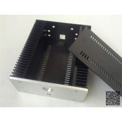 2612 Full aluminum small Class A amplifier chassis case good radiating  260mm*120mm*311mm