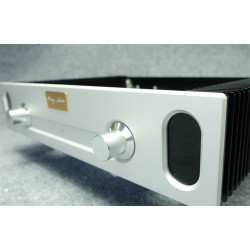 4309 double rotary knobs both sides of the radiator full aluminum amplifier box/case/part 430mm*90mm*308mm
