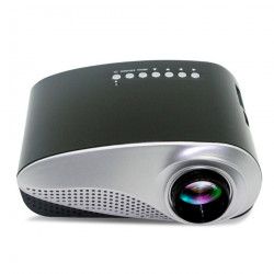 802 Home Led Mini Micro Projector Portable Projector With Hdmi Tv Interface Supports Hd 1080P Projector