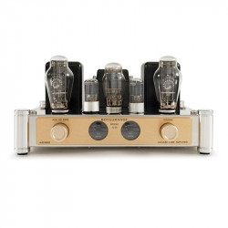 A50 MKII 300B vacuum tube amp Single-end Class A HiFi audio integrated Amplifier with VU meters (Updated version)