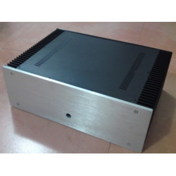 B-002   CNC All Aluminum Cabinet Chassis Case Box Cabinet for DIY Audio Power Amplifier  430mm*150mm*311mm 430*150*311mm