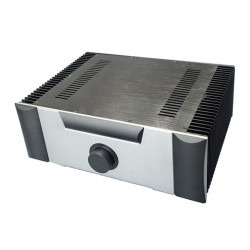 B-003  CNC All Aluminum Cabinet Chassis Case Box Cabinet for DIY Audio Power Amplifier 430mm*150mm*311mm 430*150*311mm