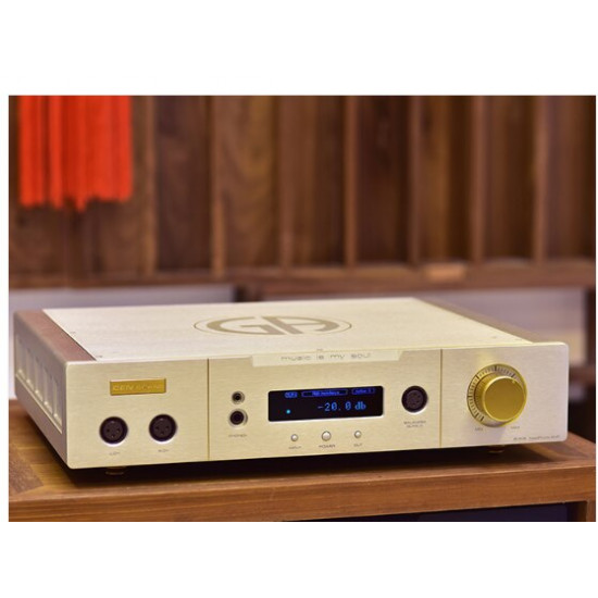 CEN GRAND 9i-906 Silver Fox Headphone Amplifier Earphone AMP Four Resistance select 20W 30ohms 20~20KHz
