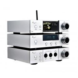 Cayin/iDAP-6/iDAC-6 MKII/iHA-6 Vacuum tube DAC & Headphone amplifier 6.35mm, 3 pins XLR, 4 pins XLR headphone Desktop player