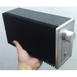 D-034  CNC All Aluminum Chassis Case Box for DIY Audio Power Amplifier  257mm*140mm*90mm 257*140*90mm