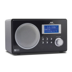 DB-60F DAB/FM /AUX-IN Radio Tuner with Bluetooth Remote Clock and Alarm with remote control