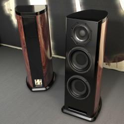 DFP 8210T HiFi hi-end speaker Coaxial Faital Pro Italy  Unit Bookshelf Speaker