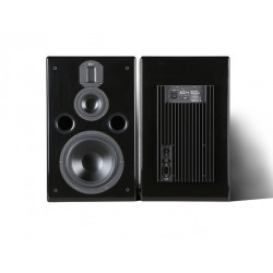 DM320 8-inch Three-way Active Monitoring Speakers  Hifi Speaker 8 inch Bass  4 inch Midrange Aluminum Treble