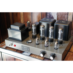 DP34 Audiophile integrated amplifier HiFi audio stereo tube amp push-pull, EL34x4 Vacuum tube with protective cover