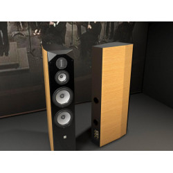 DX 4406P HiFi hi-end speaker dual 8 pollici 3.5 di divisione di frequenza a fascia in alluminio treble HIFI altoparlante mari piastra di metallo