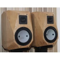 Diamond No.6 6.5 inches Hi-End bookshelf speaker Accuton BD25-6-258 tweeter+C173-6-096e midrange-bass DIY