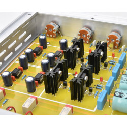 FV-2020 HiFi Class A Pre amplifier With Tweeter Mid Bass adjust Collocation with different OP AMP