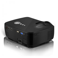 GP70 LCD 800*480 Projector (Optional Android 4.4 Bluetooth WIFI )HD 1080P 1800 lumens LED HDMI Video Home Theater