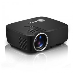GP70 LCD 800*480 Projector (Optional Android 4.4 Bluetooth WIFI )HD 1080P 1800 lumens LED  Video Home Theater