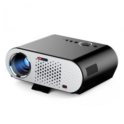 GP90 UP GP90UP Projector 3200 Lumens 1280*800 LED lamp LCD Projector for Home Theater Meeting /VGA/USB/AV Beamer