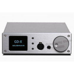 GoldenWave GDX GD-X  DAC Decoder Headphone Amplifier  Integrated  AMplifier Decoder/Headphone Amplifier  Integrated  Amplifier