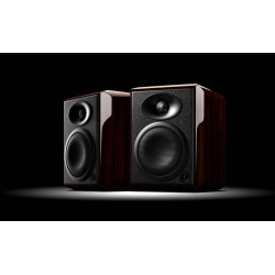 H4 2.0 Multimedia Speaker System  Active Crossover Monitor Speaker 2-way 4th vented speaker  82dB 6 ohms   45W RMS 90W RMS/2