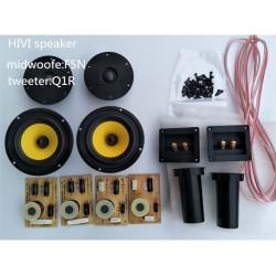 HF-008 HiFi Speakers 5 Inch woofer speakers kit  F5N Q1R  speaker driver unit