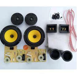 HF-120 HiFi Speakers  6.5 Inch woofer Hivi DIY speakers kit  F6N Q1R  speaker driver unit