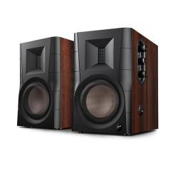 HV-04 Swans Speakers D100 Powered Bookshelf Speaker 2.0 Active Bluetooth5.0 Speaker for TV/ HIGH FIDELITY TWEETER