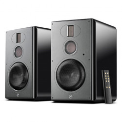Hivi H6 DSP Three-way Wireless Active Bookshelf Speakers 6.5\