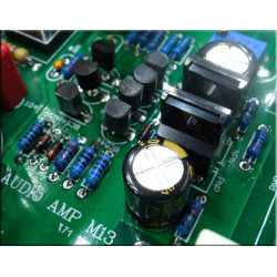 I-017  gold Seal HDAM Amplifier Amp Pure 2-way Power Amplifier Stage Pre amplifier home Audio Amplifier 300*80 *211 mm