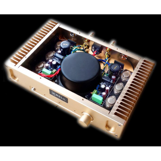 I-027  HIFI AUDIO Power Amplifier Hood 1969 Class A 10W+10W Stereo 2N3055 Amplifier in case 220V