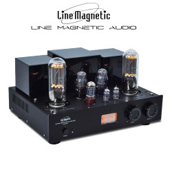 K-018 Line Magnetic LM-518IA Tube Amplifier Integrated Amplifier 845*2 Class A Single-ended Tube Amplifier 24W*2