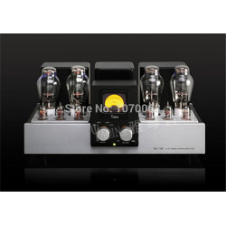 K-020 YAQIN MC-550C New Version Vacuum Tube Amplifier SRPP Circuit 300B*4 Class AB1 Power Amplifier 2x18W 110V/220V
