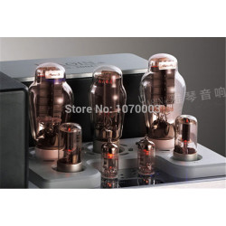 K-023 YAQIN MS-300C Integrated Vacuum Tube Amplifier class A single-ended amplifier 300Bx2 8.5Wx2 Earphone amplifie 110V/220V