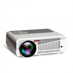 LED 86+ Basic Version Projector for Home Theate Business 4800 Lumens Bluetooth Support FULL HD 1080P VGA  WIFI Beamer