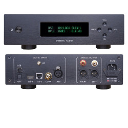 L.K.S MH-DA004 MINI ES9038pro DAC USB DSD Crystek CCHD575 Clock XLR PCM and DSD decoding USB/Optical/I2S/AES/EBU/COAX