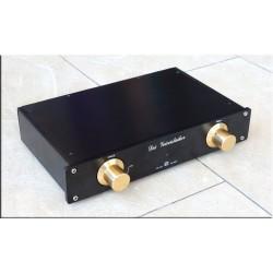 M-011  Germany MBL6010D Preamplifier copy Black Gold limited version HIFI Pre amplifier PREAM 265mm* 52mm*171mm
