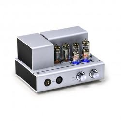 MUZISHARE i3 Vacuum Tube Power Amplifier12W*2 Headphone Amplifier Bluetooth HIFI Class A Fever Tube Amplifier 6H2N-EB*2 6P1*4
