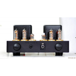 MZ-5 Full balance Vacuum tube Pre Amplifier preamp With Headphone Earphone Amp Double 100W Transformer 5814(12AU7)x2, 6c19x4