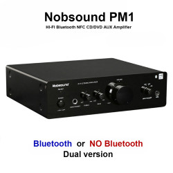 PM1 Amplifier HI-FI Bluetooth NFC Amplifier 20W+20W BT or without BT two versions 220V Or 110V Power amplifier