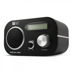 Ocean Digital DB-80 DAB/FM Radio Tuner Manually adjust Color LCD Rechargeable Battery Player Alarm Clock