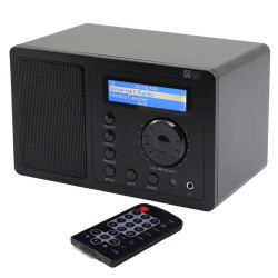 Ocean Digital WR-200 WR-220  WR-220BP WiFi(internet) DAB DAB+ FM UPnP Radio