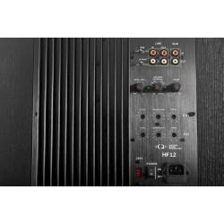 QC-004 HF12 Cinema Subwoofer 400W Class AB hi-end Power Amplifier 4 ohm  RCA Interface