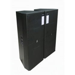 QE-002 Professional Audio Empty Speaker Box Dual 15 Inch Woofer units Easy Installing Good Quality Professional Packing