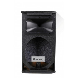 QE-010 SRX712 single 12-inch audio professional KTV stage monitor return to birch plywood empty cabinet speakers