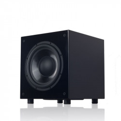 """Queenway QS-10 10"""" inch Powered Subwoofer Active Subwoofer SUB Piano Lacquer Paint Active+Passive Speaker Unit AC100-240V 300W"""