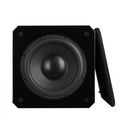 """QueenwayQS B-SW12 12"""" Inch Powered Subwoofer Active Subwoofer Piano Paint Active+Passive Speaker 100-240V 350W"""