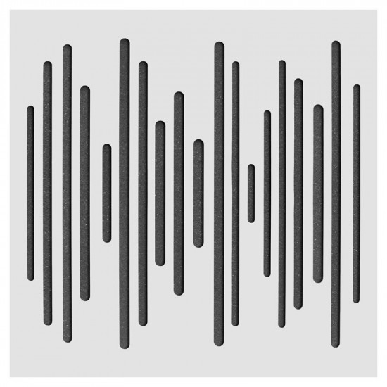 SH-003 WAVE600 tuning board Lightweight MLS two-dimensional full-frequency acoustic body Sound-absorbing diffuser  Microporous