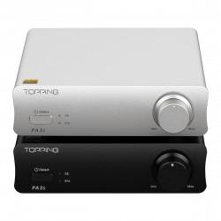 TP-04 TOPPING PA3S Desktop HiFi Digital Power Amplifier Audio Amplifier Two MA12070 Chips Class D Amplifier 80W