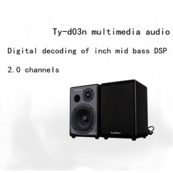 Winner / TY-D03N Hi end bookshelf speaker DSP digital decoding 2.0 channel multimedia active speaker